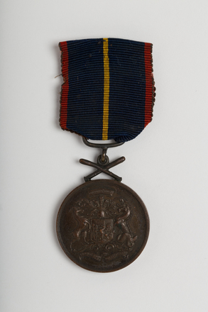medal, commemorative, N2570, W1274, Photographed by: Julia Scott, photographer, digital, 23 Mar 2017, © Auckland Museum CC BY