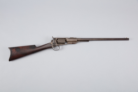 carbine, 1926.242, W0295, 293882, Photographed by Richard NG, digital, 23 Mar 2017, © Auckland Museum CC BY