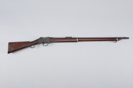 rifle, lever action, W0162, 97354.03, Photographed by Richard NG, digital, 24 Mar 2017, © Auckland Museum CC BY