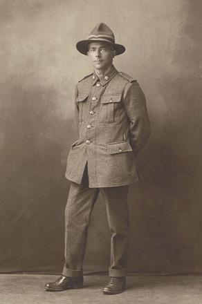 Portrait of Sergeant George Augustus (48793). Image kindly provided by the McKay family. Image may be subject to copyright restrictions.