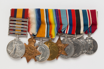 medal set, 2002.48.2, 7686, Photographed by Ben Abdale-Weir, digital, 11 Apr 2017, © Auckland Museum CC BY