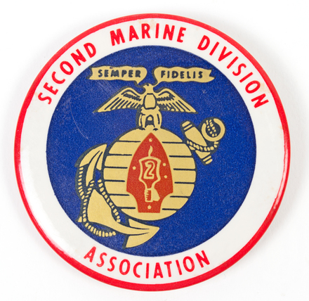 badge,second marine division