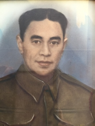 Portrait of Te Peeti Eru Spadie Merito. Image kindly provided by Harry Family (April 2017). Image may be subject to copyright.