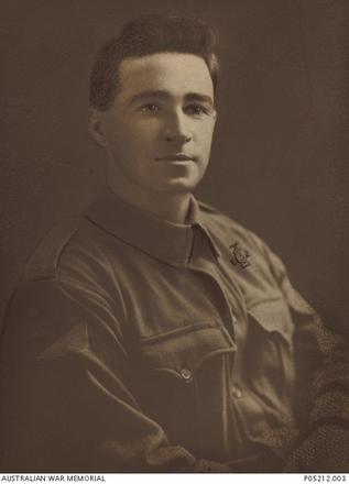 Portrait of Corporal Lawrence Carthage Weathers VC, c.1916. P05212.003, Australian War Memorial. Image has no known copyriht restrictions.
