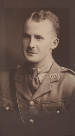 Lieutenant Wilfred J. Sim - Military Cross. Archives NZ R24184082. Image has no known copyright restrictions.