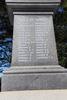 Kaikoura War Memorial, First World War. Auty to Laugesen. Image provided by John Halpin 2017, CC BY John Halpin 2017.