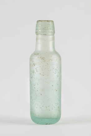 bottle, mineral water, 2014.24.48, 35/9, Photographed by Richard NG, digital, 06 Jun 2017, © Auckland Museum CC BY