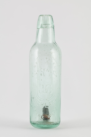 bottle, mineral water, 2014.24.50, 35/13, Photographed by Richard NG, digital, 06 Jun 2017, © Auckland Museum CC BY