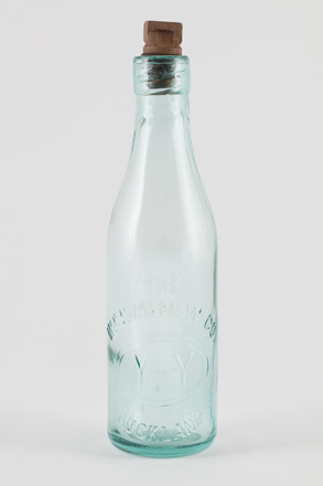 bottle, mineral water, 2014.24.65, 60/9, Photographed by Richard NG, digital, 07 Jun 2017, © Auckland Museum CC BY