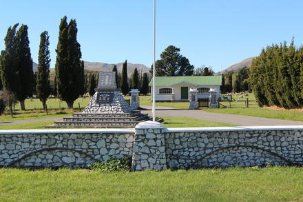 Ward War Memorial, Ward, Marlborough. Image provided by John Halpin 2017, CC BY John Halpin 2017.