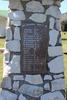 Ward War Memorial, Ward, Marlborough. Ward First World War Memorial Returned Servicemen, H.J Jenkins to L.D. Waters. Image provided by John Halpin 2017, CC BY John Halpin 2017.
