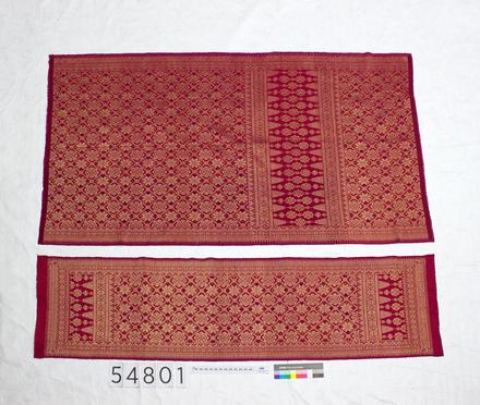 1994.124; 54801; wedding sarong; front I.D