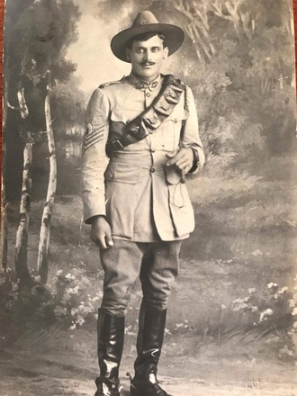 Photograph of Trooper Otto Meuli 11/459. Image kindly provided by Lisa Moloney (June 2017). Image has no known copyright restrictions.