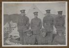"Unknown, photographer, ""Duncan, Craig, Tom, McHardie, Biss, London, Abbott""  in Colin M. Gordon album (1915-1918). Auckland War Memorial Museum - Tāmaki Paenga Hira  PH-ALB-376-p3-2."