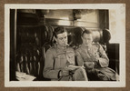 "Unknown, photographer, ""Vic Rhodes, E.R. Keily""  in Colin M. Gordon album (1915-1918). Auckland War Memorial Museum - Tāmaki Paenga Hira  PH-ALB-376-p34-2."