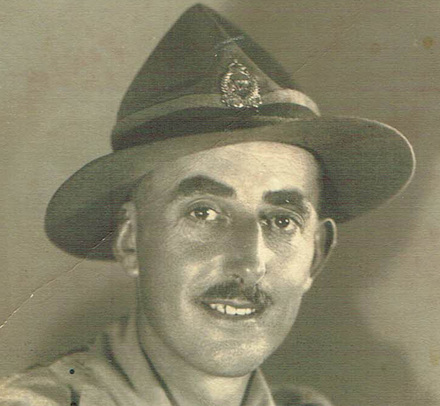 Photograph of Lance Corporal Charles Goodwin 36837. Image kindly provided by Tennant Rodger (July 2017). Image may be subject to copyright.