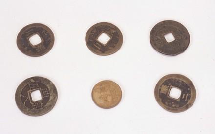 coins, six