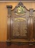 Ponsonby Lodge Onehunga Masonic Hall Roll of Honour, 1914-1918. Image provided by John Halpin 2014, CC BY John Halpin 2014