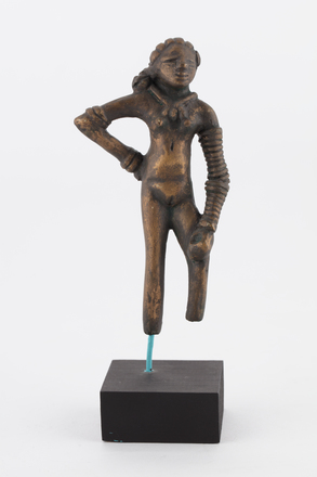 Dancing girl of Mohenjo-Daro, 2017.x.44, Photographed by Denise Baynham, digital, 03 Aug 2017, © Auckland Museum CC BY