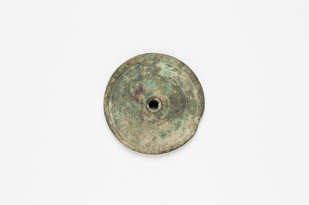 percussion disc, 1956.116.17, 34704.2, Photographed by Andrew Hales, digital, 10 Aug 2017, © Auckland Museum CC BY