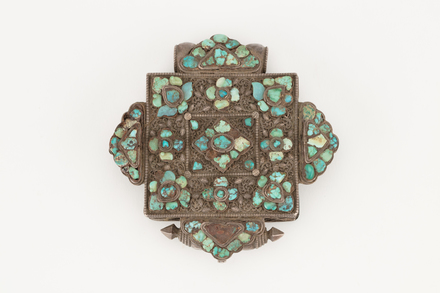 amulet, prayer book, 1974.154, 46729, 91 (D2), Photographed by Richard Ng, digital, 28 Aug 2017, © Auckland Museum CC BY