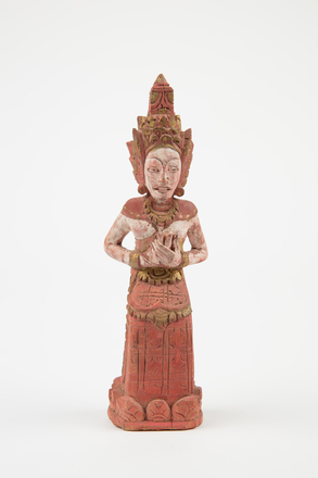figure, carved, M1619, H15, Photographed by Richard Ng, digital, 29 Aug 2017, © Auckland Museum CC BY