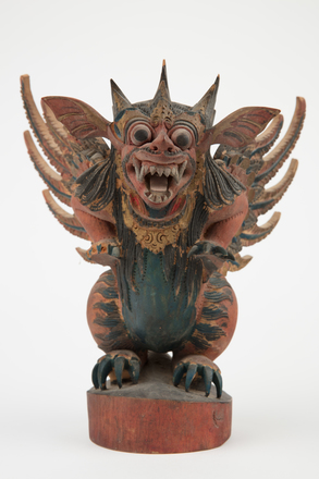 carving, winged lion, 1981.99, M2075, B45, H10, Photographed by Richard Ng, digital, 29 Aug 2017, © Auckland Museum CC BY