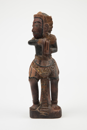figure, carved, 47709, B18, 1975.90, Photographed by Richard Ng, digital, 29 Aug 2017, © Auckland Museum CC BY