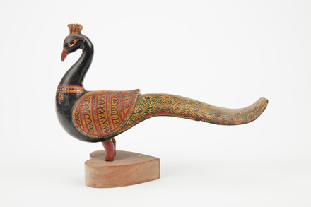 figure, bird, 1974.154, 46669, 6, Photographed by Richard Ng, digital, 30 Aug 2017, © Auckland Museum CC BY