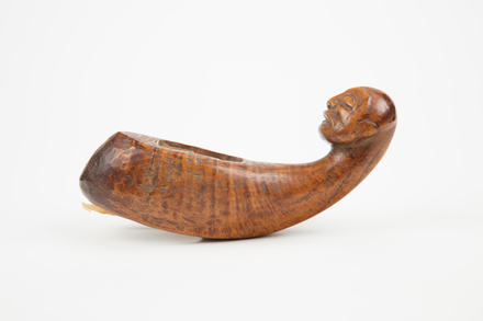 figure, carved, B83, Photographed by Richard Ng, digital, 31 Aug 2017, © Auckland Museum CC BY
