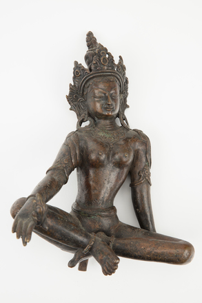 bronze, figure, 1974.154, 46715, 52, Photographed by Richard Ng, digital, 01 Sep 2017, © Auckland Museum CC BY