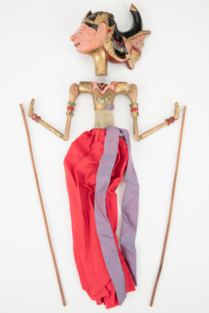 puppet, 2017.x.342, Photographed by Richard Ng, digital, 07 Sep 2017, © Auckland Museum CC BY