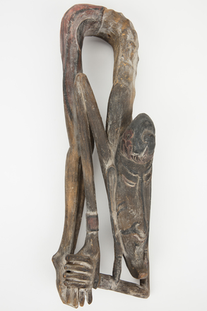 figure, carved, M1614, H44, Photographed by Richard Ng, digital, 11 Sep 2017, © Auckland Museum CC BY