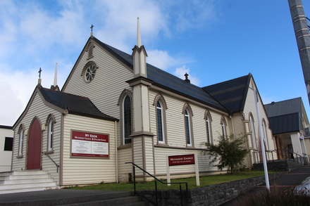 Mount Eden Methodist Church exterior, 426 Dominion Road, Mount Eden Auckland 1024. Image provided by John Halpin 2015, CC BY John Halpin 2015