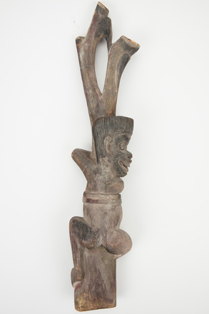 figure, carved, M1613, H43, Photographed by Richard Ng, digital, 12 Sep 2017, © Auckland Museum CC BY