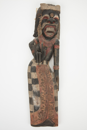 figure, carved, 1981.99, M2061, B34, H18, Photographed by Richard Ng, digital, 12 Sep 2017, © Auckland Museum CC BY