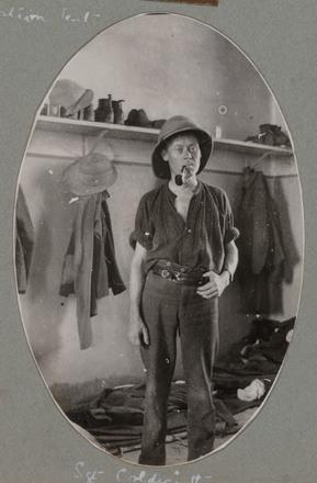 "Unknown, photographer (1915-1916). ""Sgt. Coldicutt"". [Agnes (Peggy) Williams photograph album]. Auckland War Memorial Museum - Tāmaki Paenga Hira PH-2017-2-2-p31-4. No known copyright restrictions."