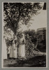 "Unknown, photographer. ""Sis Ingram, Williams, & Bennett"". [Agnes (Peggy) Williams photograph album]. Auckland War Memorial Museum - Tāmaki Paenga Hira PH-2017-2-2-p35-6. No known copyright restrictions."