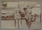 "Unknown, photographer (1915-1916). ""Capt. Fergus & Wallis"". [Agnes (Peggy) Williams photograph album]. Auckland War Memorial Museum - Tāmaki Paenga Hira PH-2017-2-2-p40-2. No known copyright restrictions."