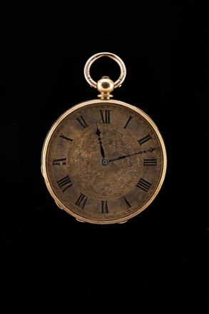 watch, gold, 1948.170, H145, 30358, Photographed by Jennifer Carol, digital, 30 Oct 2017, © Auckland Museum CC BY