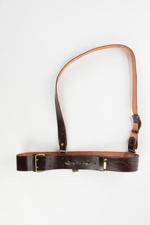 belt, Sam Browne, 2001.25.802.8, Photographed by Denise Baynham, digital, 13 Nov 2017, © Auckland Museum CC BY