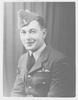 Portrait of Flight Lieutenant Eric Reginald Jones NZ404375, c.Second World War. Date unknown. Image kindly provided by Barbara Durbin (November 2017). Image may be subject to copyright restrictions.