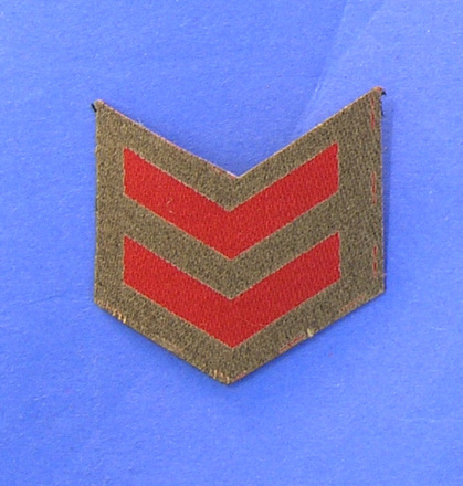badge, rank [2005.58.15] front view