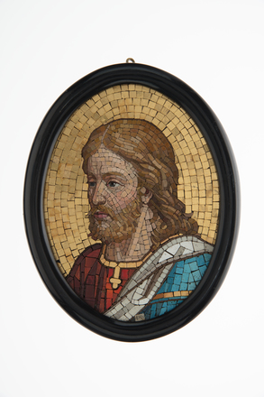 ikon, Jesus Christ, 1932.233, M1872, 17749, 489, 17748, Photographed by Denise Baynham, digital, 08 Jan 2018, © Auckland Museum CC BY