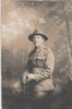 Portrait of Cpl Frederick William Flan. Image from Kathleen Thoms collection (December 2017). Image has no known copyright restrictions.