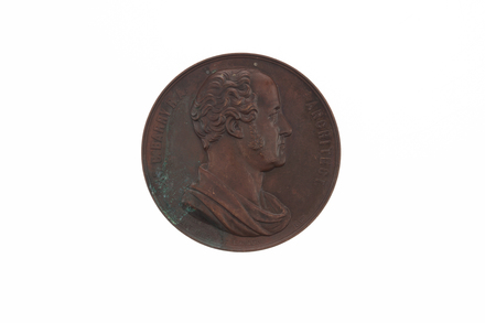 medal, commemorative, 1932.233, N2288, 18033.23, 691, BHM 2712, Photographed by Denise Baynham, digital, 15 Jan 2018, © Auckland Museum CC BY