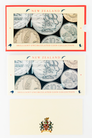 coin set, 2017.x.720, Photographed by Jennifer Carol, digital, 20 Mar 2018, © Auckland Museum CC BY