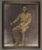 Portrait of Private Tuakana Atama Akeau 60685, c.First World War. Image kindly provided by Rachpal Attari (March 2018). Image may be subject to copyright restrictions.