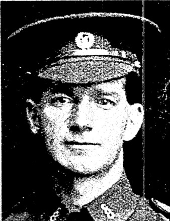 Private Henry George Stephen (Westport). Wounded. Otago Witness, 16 August 1916. Papers Past. Image has no known copyright restrictions.