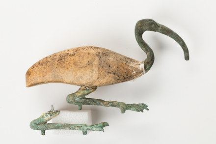 figurine, ibis, 1976.154, 47788, Photographed by Jennifer Carol, digital, 03 May 2018, © Auckland Museum CC BY